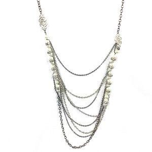 New Beaded Rhinestone Necklace
